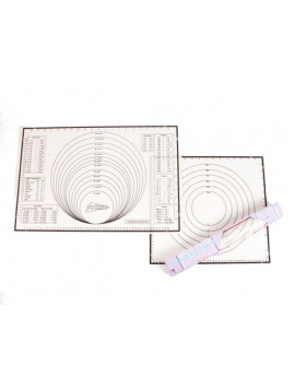 Silicone mat for kneading 60x40