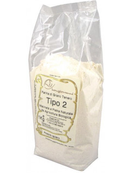 Soft wheat flour type 2 1Kg - Organic