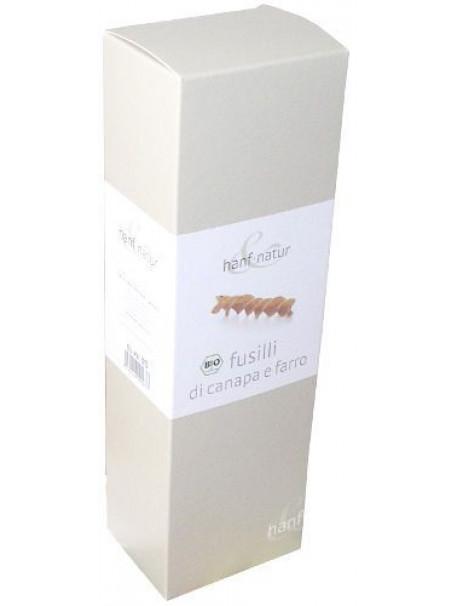 Spelt and Hemp Fusilli 250g - Organic