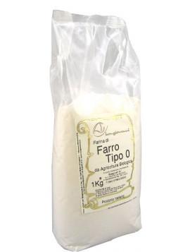 Spelt flour Type 0 1Kg - Organic