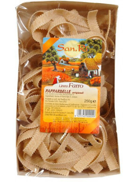 Spelt partially wholemeal pappardelle 250g - Organic