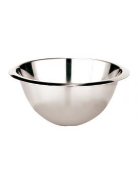 Stainless steel hemispherical Bowl (20 diameter)