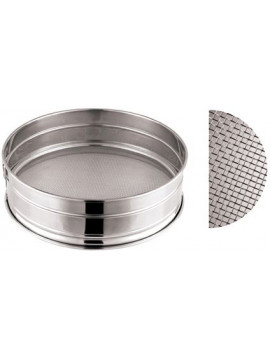 Stainless steel sieve (diameter 22 cm)