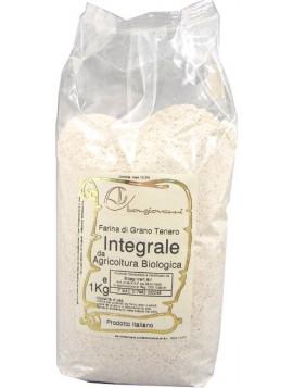 Stone ground wholemeal wheat flour 1Kg - Organic