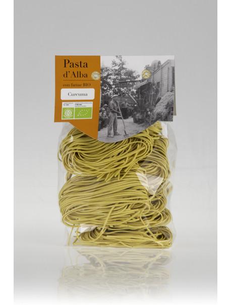 Tagliolini pasta with turmeric 250g - Organic - Pasta d  Alba