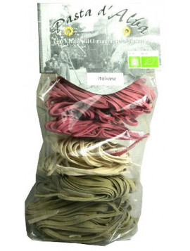 Three color Tagliatelle 250g - Organic