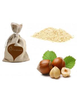 Toasted hazelnuts flour 500g - Organic