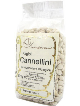 White Cannellini beans 500g - Organic