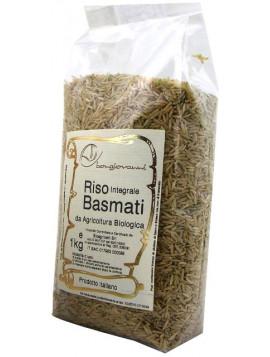 Wholemeal Basmati rice 1Kg - Organic