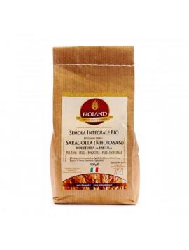 Wholemeal Saragolla wheat semolina 1Kg - Organic