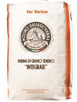 Wholemeal soft wheat flour type 00 25Kg
