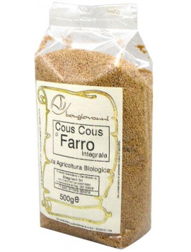 Wholemeal Spelt Couscous 500g - Organic